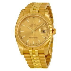Datejust 18kt yellow gold